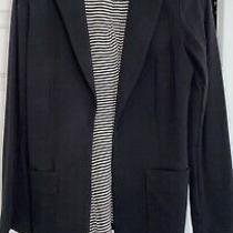 Black Guess Blazer Size Xs Photo