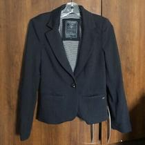 Black Guess Blazer Womens Size Small Guc Photo