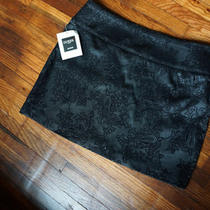 Black Guess Mini Skirt Sparkle Photo