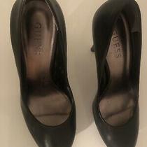 Black Guess Platform Womens High Heel Shoes Size 7 M Photo