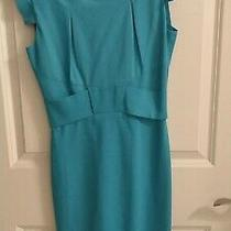 Black Halo - Form Fitting Dress -Light Blue - Size 0 Photo