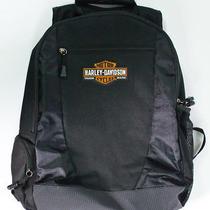 Black Harley Davidson Motorcycles Backpack  Photo