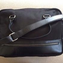 Black John Varvatos Messenger Bag Photo