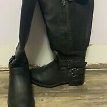 Black Knee High Boots Us Size 6.5w (Women's) Wide Calf Never Worn Torrid Photo