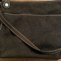Black Knit Handbag by the Sak Photo