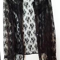 Black Lace Blouse Photo