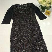 Black Lace Open Back Very Sexy Long Sleeve Dress M Help Essential Workers Photo