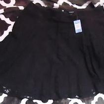 Black Lace Torrid Skirt Photo