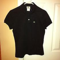 Black Lacoste Polo Photo