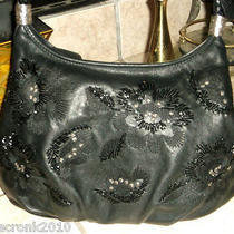 Black Leather Brighton Purse - Sale Price Photo