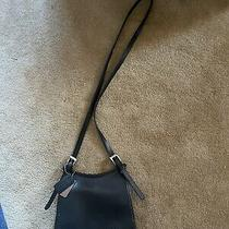 Black Leather Coach Crossbody Purse Photo
