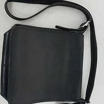 Black Leather Coach Handbag Photo