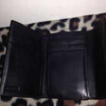Black Leather Coach Wallet Photo