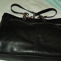 Black Leather Fendi Tote Photo