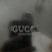Black Leather Gucci Purse Photo