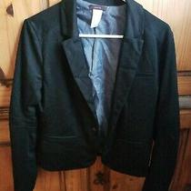 Black Lined Blazer Large Mark by Avon Photo