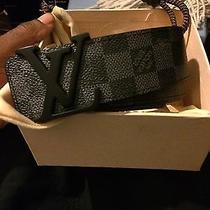 Black Louis Vuitton Damier Graphite 90cm Photo