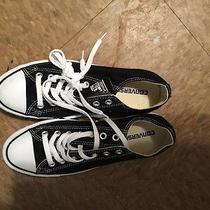 Black Low Top Converse Photo