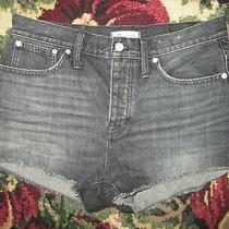 Black Madewell Relaxed Denim Shorts Size 29 Photo