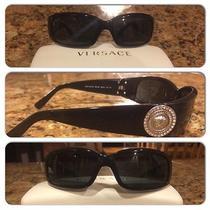 Black Men Versace Sunglasses Photo