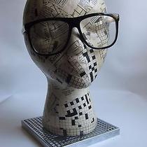 Black Nerd Fashion Glasses - Clear Lenses - Carbon Element  Photo
