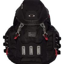 Black Oakley 34l Kitchen Sink Backpack Laptop Bag Rucksack Carry All Moto Gear Photo