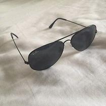 Black on Black Ray Ban Aviators Photo