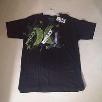Black Original Hurley Large Size T-Shirt Photo