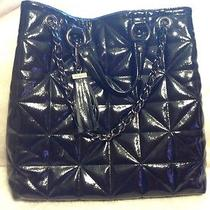 Black Patent Bebe Purse Handbag. New Cond. Make an Offer Photo