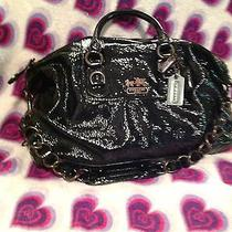 Black Patent Leather Coach Pures Photo