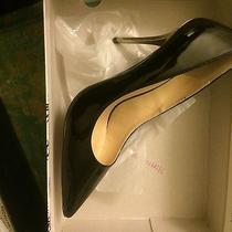 Black Patent Leather Heels Photo