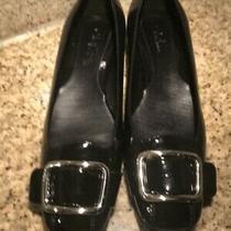 Black Patent Leather Shoes Size 8.5 Medium Photo
