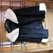Black Persian Lamb Jacket  Photo