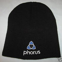 Black Phorus Beanie by Outdoor Cap One Size Fits Most New Photo