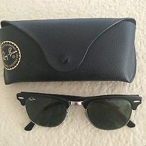 Black Ray-Ban Clubmaster Sunglasses Never Worn  Photo
