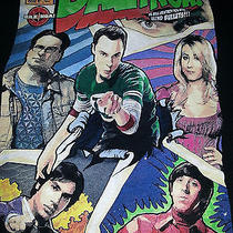 Black Ripple Junction Comic Book Big Bang Theory Tv Show T-Shirt Size Xl Photo