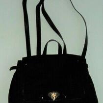 Black Rose Gold Back Pack Bag Lauren Conrad Tote Purse - Flash Sale Photo