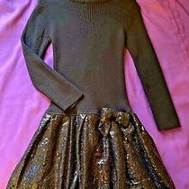 Black Sequin Bubble Dress by Camilla Girls Size M 5-6 Party Holiday Dress New Photo
