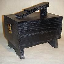 Black Shoe Shine Box Photo