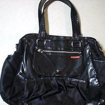 Black Skip Hop Purse Diaper Bag  Photo