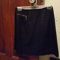 Black Skirt With Zipper Photo