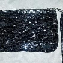 Black Sparkle Express Clutch in Good Condition  Photo