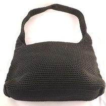 Black the Sak Crocheted Purse Photo