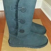 Black Ugg Boots (Black Size 9 ) Photo