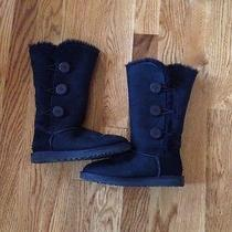 Black Uggs Size 8 Photo