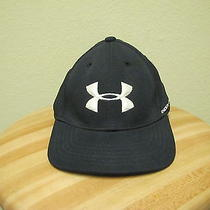Black Under Armour Youth Size Golf Cap/hat. Photo