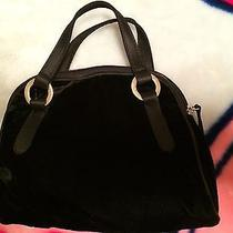 Black Velvet Victoria's Secret Handbag Purse Clutch Photo