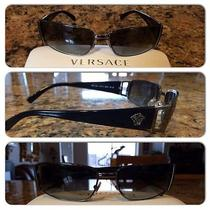 Black Versace Men Sunglasses Photo