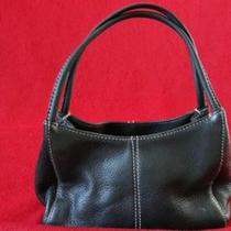 Black Vintage Fossil Leather Handbag  Photo