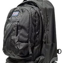 Black Wheeled Backpack on Wheels by Jansport High School College Mens Womens Photo